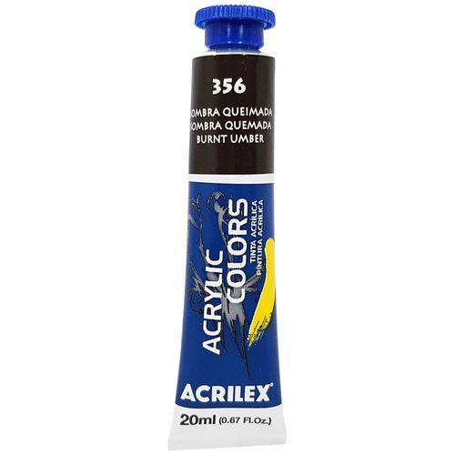 Tinta-Acrilica-Acrylic-Colors-20ml-356-Sombra-Queimada-Acrilex