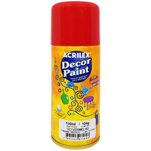 Tinta-em-Spray-Decor-Paint-150ml-523-Vermelho-Acrilex