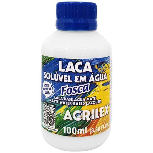 Laca-Soluvel-em-Agua-100ml-Fosca-Acrilex