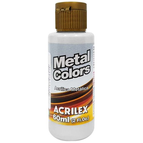 Tinta-Acrilica-Metal-Colors-60ml-533-Prata-Acrilex