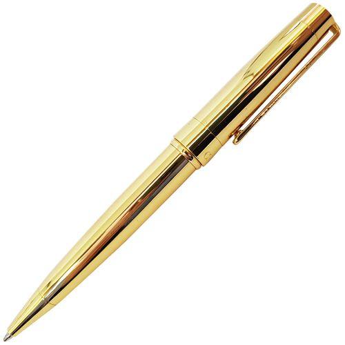 Caneta-Esferografica-Crown-President-Dourada