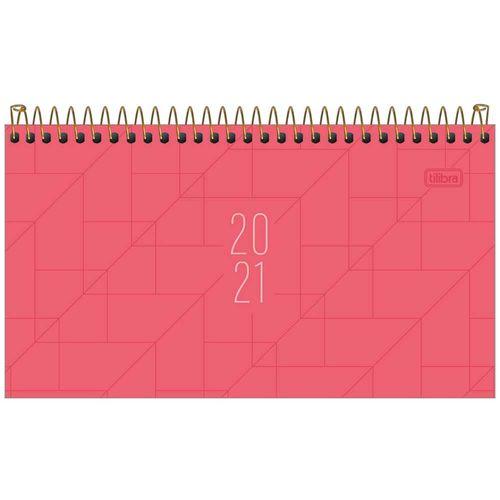 Agenda-2021-Espiral-Semanal-Spot-Rosa-M2-Tilibra