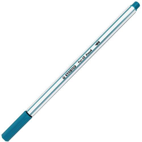 Caneta-Stabilo-Pen-68-Brush-51-Azul-Turquesa