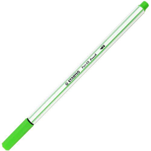Caneta-Stabilo-Pen-68-Brush-43-Verde-Claro