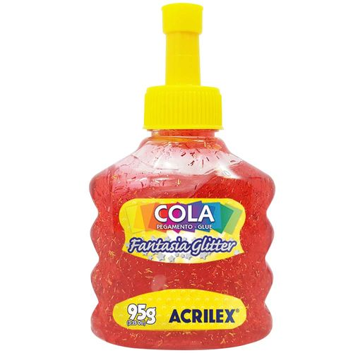 Cola-Fantasia-Glitter-95g-Vermelha-Acrilex