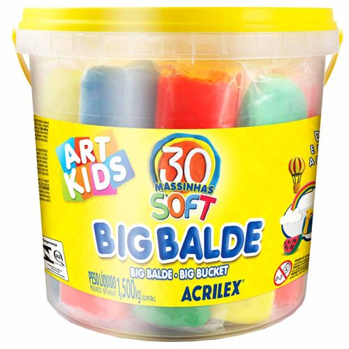 Kit-de-Massinha-de-Modelar-15Kg-Big-Balde-Art-Kids-Acrilex