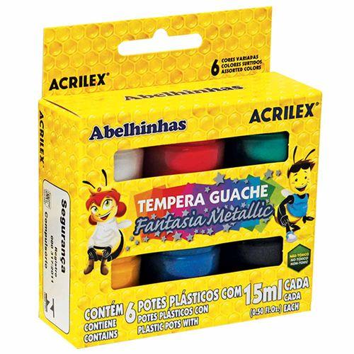 Tempera-Guache-6-Cores-Fantasia-Metallic-Acrilex