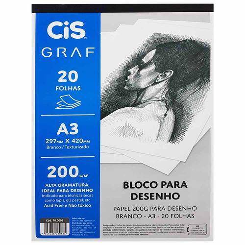 Bloco-para-Desenho-A3-200g-Cis-Graf-20-Folhas