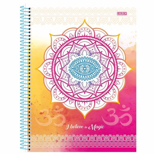 Caderno-Universitario-1-Materia-I-Believe-in-Magic-80-Folhas-Sao-Domingos