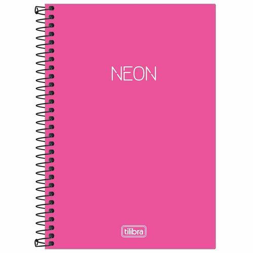 Caderno-14-Neon-Pink-80-Folhas-Tilibra