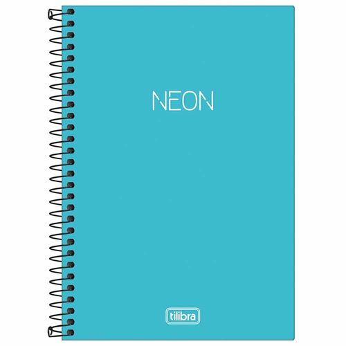 Caderno-14-Sem-Pauta-Neon-Azul-80-Folhas-Tilibra