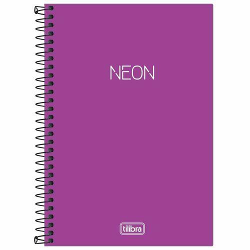 Caderno-14-Sem-Pauta-Neon-Roxo-80-Folhas-Tilibra