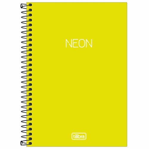 Caderno-14-Sem-Pauta-Neon-Verde-Limao-80-Folhas-Tilibra