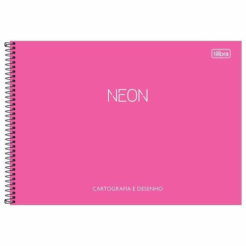 Caderno-Cartografia-Neon-80-Folhas-Tilibra