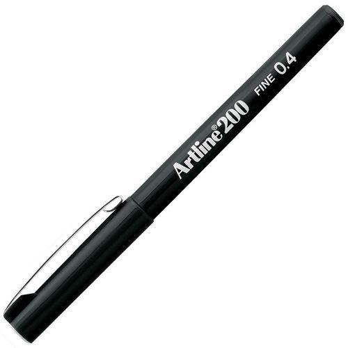 Marcador-Artistico-EK-200-Fine-Artline-Preto