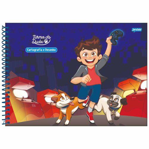 Caderno-Cartografia-Turma-do-Duda-80-Folhas-Jandaia