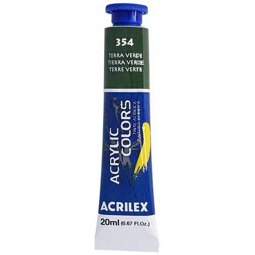 Tinta-Acrilica-Acrylic-Colors-20ml-354-Terra-Verde-Acrilex