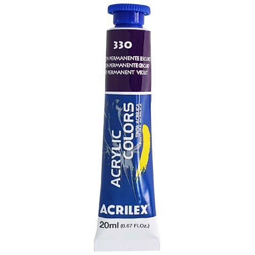 Tinta-Acrilica-Acrylic-Colors-20ml-330-Violeta-Permanente-Escuro-Acrilex
