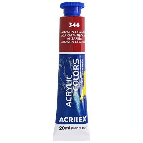 Tinta-Acrilica-Acrylic-Colors-20ml-346-Alizarin-Crimson-Acrilex