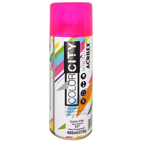 Tinta-em-Spray-Color-City-400ml-527-Pink-Fluorescente-Acrilex