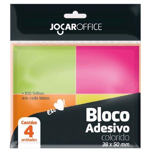Bloco-Adesivo-Jocar-Office-38x50mm-Neon-4x100-Folhas
