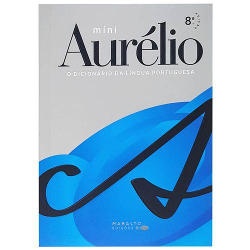 Dicionario-Mini-Aurelio-Lingua-Portuguesa-8ª-Edicao-Maralto