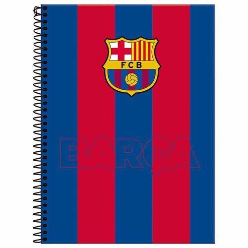 Caderno-Universitario-1-Materia-Barcelona-96-Folhas-Foroni