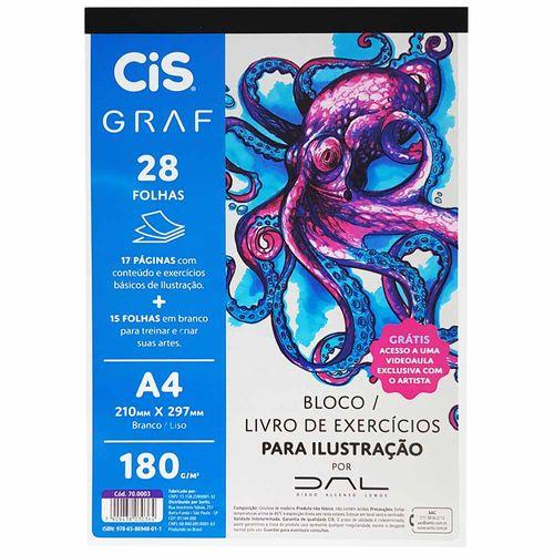 Bloco-para-Desenho-A4-180g-Ilustracao-Cis-Graf-28-Folhas