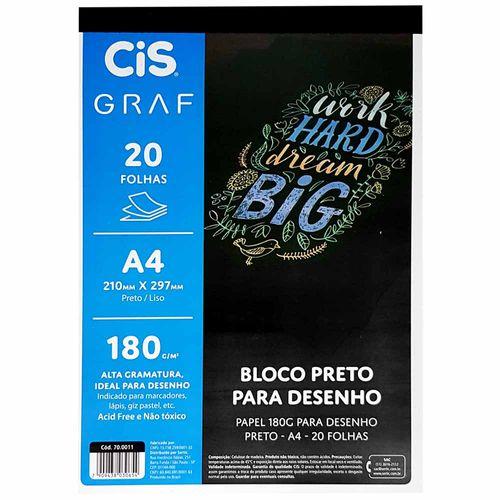 Bloco-para-Desenho-A4-180g-Preto-Cis-Graf-20-Folhas