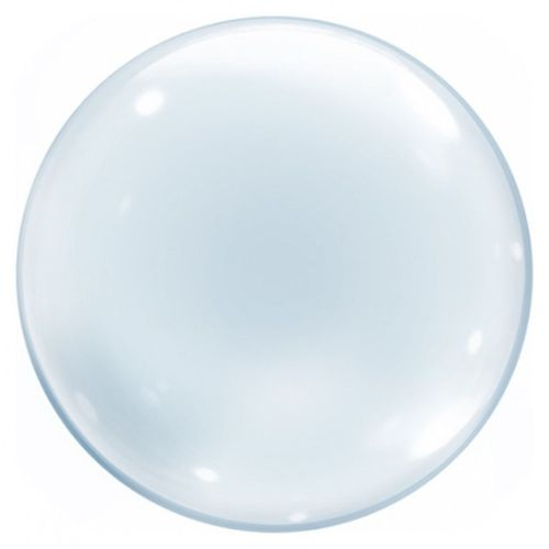 Balao-Bubble-24-Transparente-Cromus
