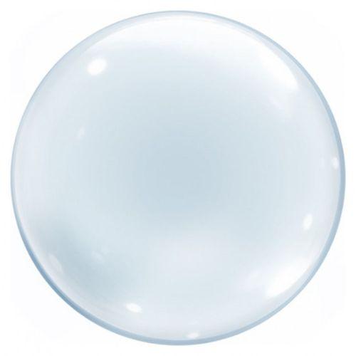 Balao-Bubble-36-Transparente-Cromus