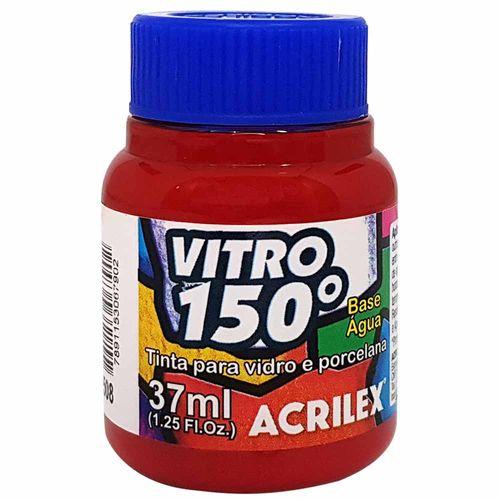 Tinta-Vitro-150°-37ml-508-Vermelho-Escarlate-Acrilex