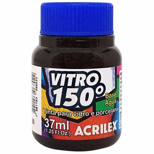 Tinta-Vitro-150°-37ml-526-Marrom-Escuro-Acrilex