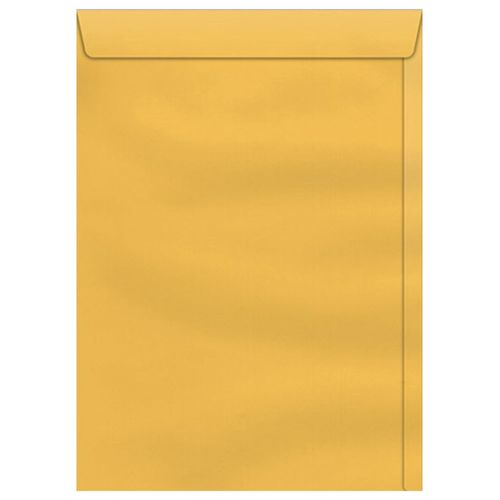 Envelope-Saco-240x340mm-Kraft-Ouro-Scrity-250-Unidades