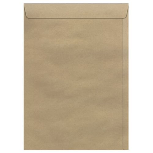 Envelope-Saco-310x410mm-Kraft-Natural-Scrity-100-Unidades