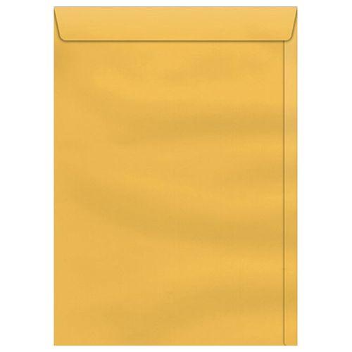 Envelope-Saco-260x360mm-Kraft-Ouro-Scrity-250-Unidades