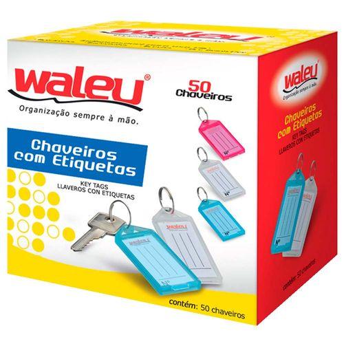 Chaveiro-com-Etiqueta-Organizador-Waleu-50-Unidades