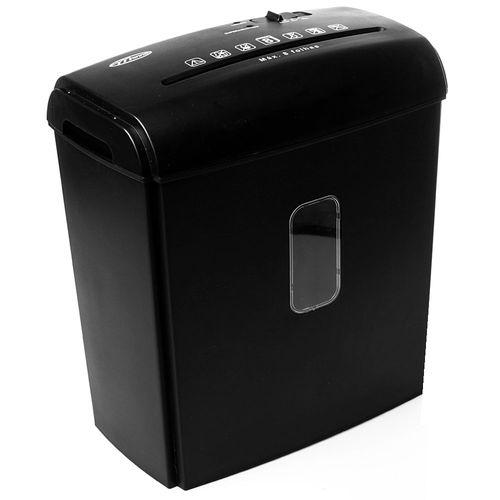 Fragmentadora-de-Papel-Menno-com-Cesto-Secreta-08C-Preta-110V