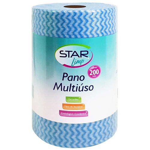Pano-Multiuso-20x30cm-Rolo-Azul-Star-Limp