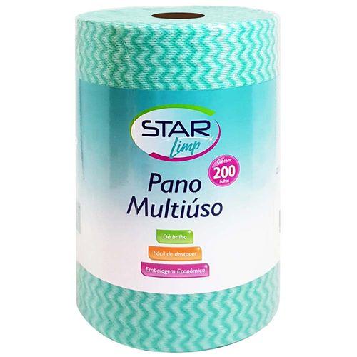 Pano-Multiuso-20x30cm-Rolo-Verde-Star-Limp