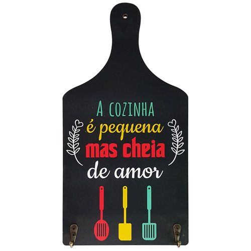 Quadro-Decorativo-35x17cm-Kitchen-Rocie