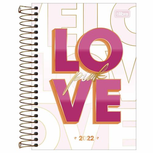 Agenda-2022-Espiral-Diaria-Love-Pink-M6-Tilibra