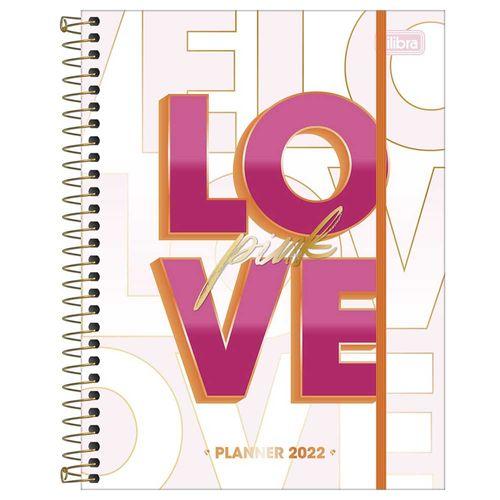 Planner-2022-Espiral-Love-Pink-M7-Tilibra