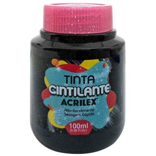 Tinta-PVA-Cintilante-100ml-520-Preto-Acrilex