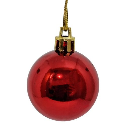 Bola-de-Natal-4cm-Vermelha-Wincy-4-Unidades