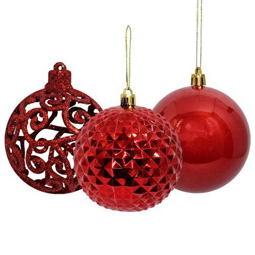 Bola-de-Natal-8cm-Vermelha-Wincy-10-Unidades