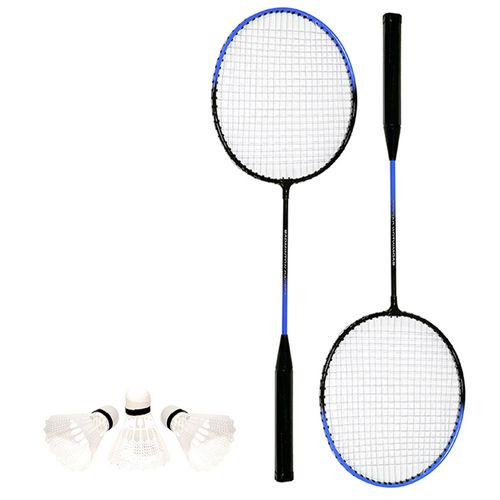 Kit-Badminton-Raquete-e-Peteca-Azul-Art-Sport